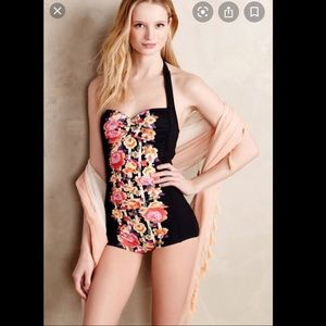 Anthropology Seafolly Retro Swimsuit 🌺